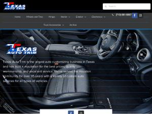Texas Auto Trim >> Texas Auto Trim Custom Upholstery Auto Service Houston Tx In